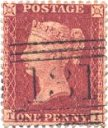 Rose-red/White Paper Issues (SG36,40-42, Spec C10-C13)